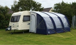 Campsite and caravan park, Anglesey