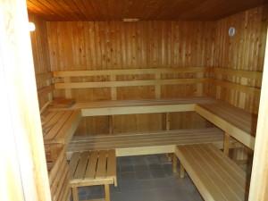 Sauna. Glan Gors Holiday Park, Anglesey