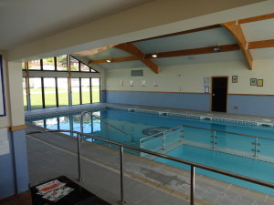 Swimming Pool. Glan Gors Holiday Park, Anglesey