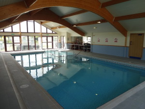 Swimming Pool. Glan Gors Holiday Park, Anglesey.